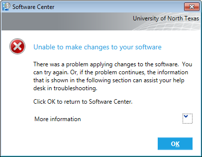 Troubleshoot Problems with Software Center | Computing for
