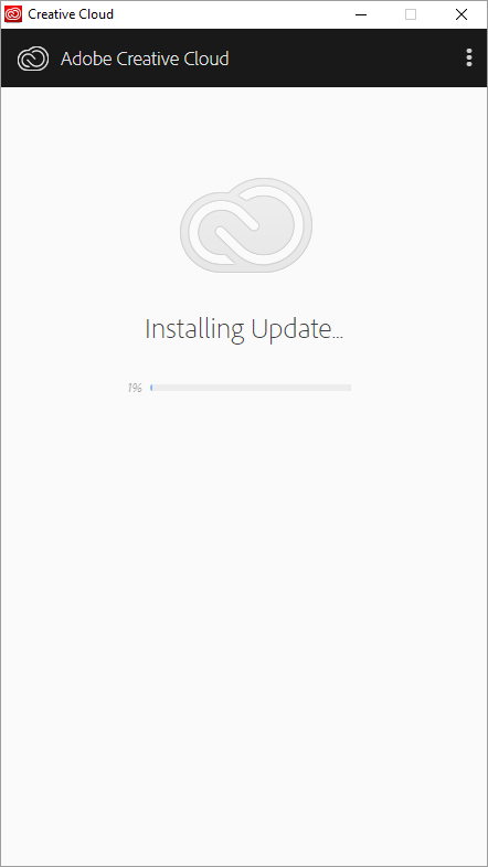 Creative Cloud Update Process
