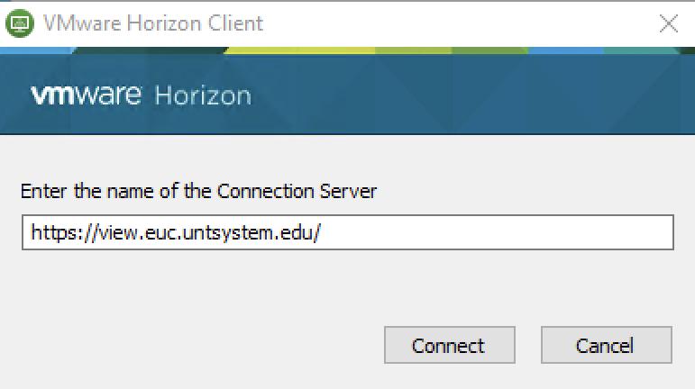 Installing VMware Horizon Client | Computing for Arts + Sciences