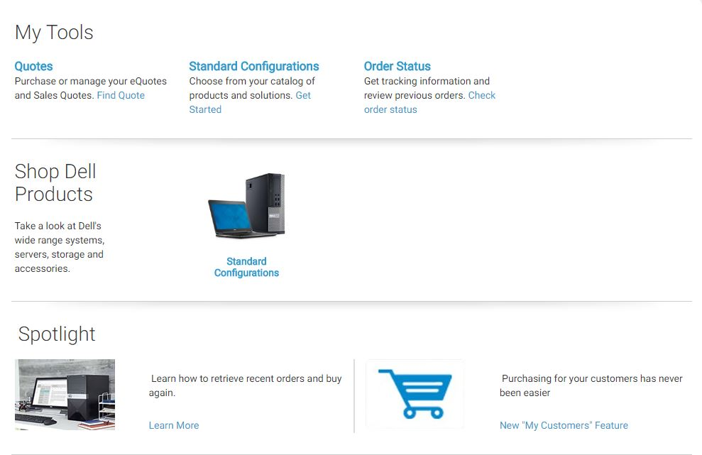 Dell Quote To Order Brilliant Order Dell Pc  It Services