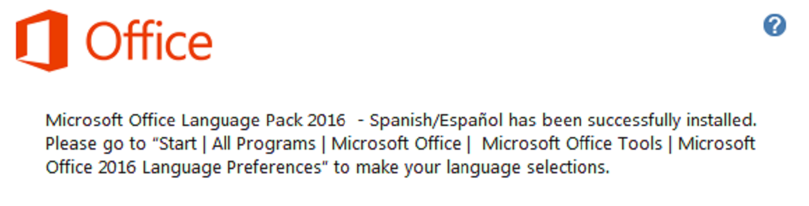 language pack for office 2016 albanian