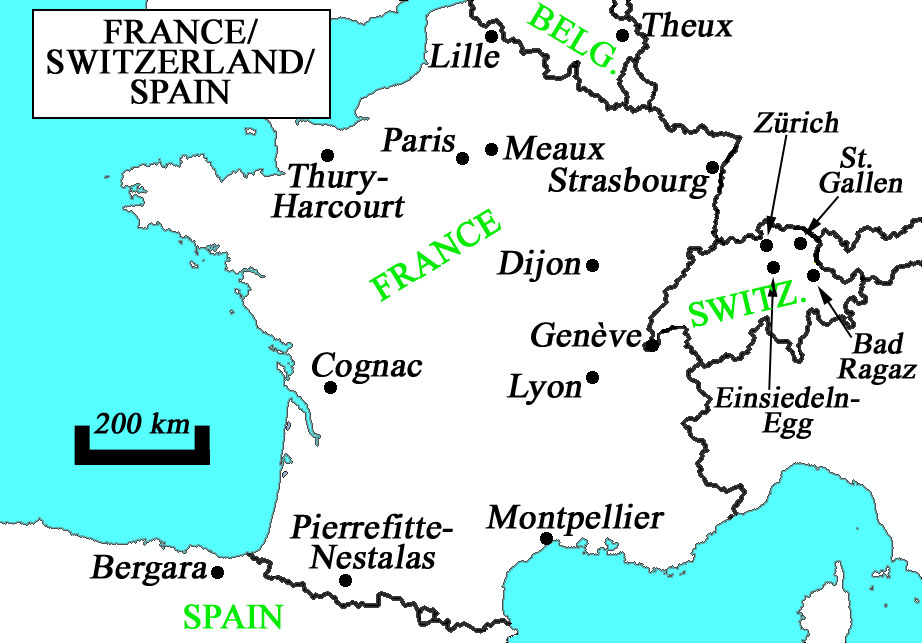 Lille Map Of France.France