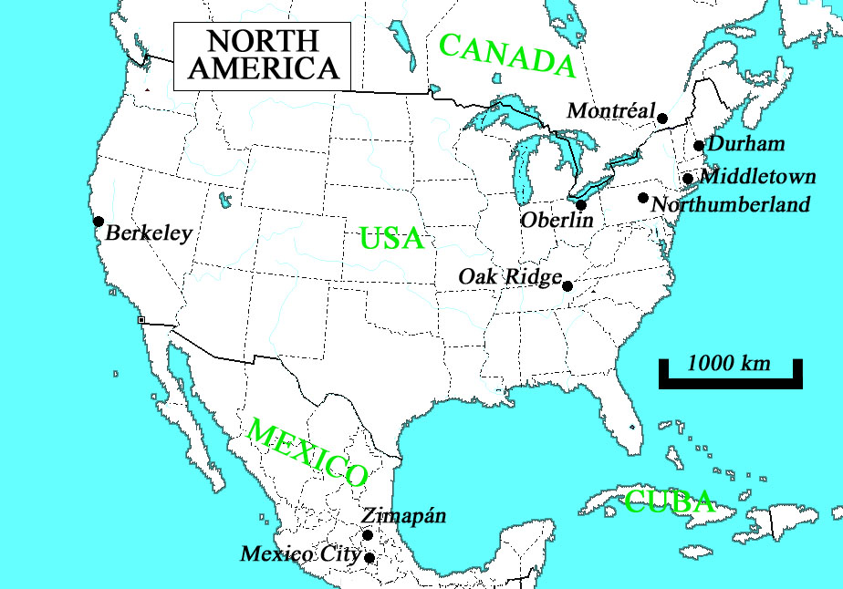 Montreal On Us Map The United States